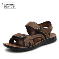active casual shoes - 2016 camel active comfortable Men s Beach Sandals Upstream Outdoor Sports Shoes khaki brown Breathable Walking Shoes