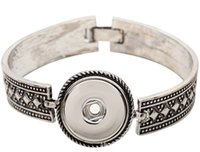 Wholesale New Wangsh Vintage Ginger Snaps Snap Bracelet Fit Interconvertible mm mm Snap Button Jewelry
