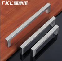 ambry furniture - 304 Stainless Steel Kitchen Door Ambry Door Knob Wardrobe Drawer Furniture Modern Wine Cabinet Pull Handle