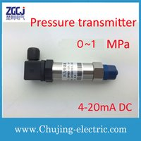 Wholesale Stainless steel Gas and Liquid Pressure transmitter MPa V DC output mA DC pressure sensor
