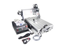 auto screw machine - 110V V D CNC Router Z DQ CNC Milling Machine with with rotary axes ball screw auto checking tool free cnc clamps