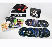 Wholesale Workout Set Shaun T s Crazy Body Exercise Fitness Video Workout DVDs