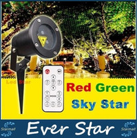 Wholesale NEW Remote Controller IP65 Waterproof Elf Xmas Lights Red Green Outdoor Christmas Laser Lighting Projector Decorations For Home