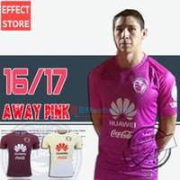 Wholesale Whosales Club America Soccer Jerseys away pink TOP QUALITY Club America Jersey R SAMBUEZA P AGUILAR O Peralta Football Shirt