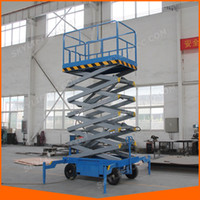 Wholesale 16m Scissor Lift Kit Mobile Scissor Platform Lift With Ce Certificate