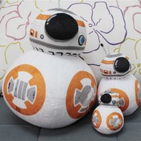 bb cosplay - 4inch cm Star Wars Plush Toys BB Robot Soft Stuffed Dolls Cosplay Costume The Force Awakens Cartoon Character Toys