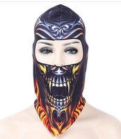 animal mask pattern - Outdoor Sports Cycling D Animal Pattern Full Tactical Winter Balaclava Halloween Outdoor Sports Warm Caps Cycling Face Mask Scarf