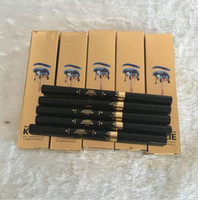 Wholesale Gold KYLIE Birthday Edition LEO IN Waterproof Eyebrow Pencil Makeup Skinny Brow Pencil DOuble ended with eyebrow brush Colors