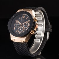 big bang free - Hot brand men watch Luxury watches Christmas gift big bang rubber band military quartz wirstwatches for men relojes