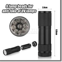 aluminium light box - Purple Light x CREE LED UV Light Flashlight Hiking Mini UV Torchlight Aluminium Alloy Money Detecting LED UV Lamp UV UV Light In Box