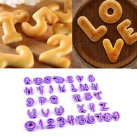 alphabet font - NEW ARRIVAL English Letter Font Alphabet Cookie Cutter Number Cookie Cutter Set Cake Tool Decorating Fondant Mold Hot
