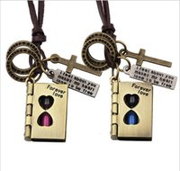 bible times - 2016 New New forever love couple Bible time hourglass pendant Harry Potter magic Valentine Necklace Punk Choker collier