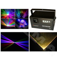 laser show equipment - New mW RGY Laser Stage Lighting CH DMX PRO Scanner DJ Party KTV Show Projector Equipment disco mini laser light