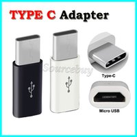 Wholesale Micro USB female to Type C male Cable Adapter Charge Data Sync Converter For Samsung Note7 Nokia N1 Oneplus2 type c phone