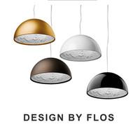 Wholesale Italy Flos Skygarden Pendant Lights White Black Golden Resin Lamp Kitchen Restaurant Lighting Fixture E27 V V