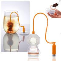 Wholesale Tea Infuser Strainer Deep Coffee Tea Infusers Makers Diver Loose Leaf Strainer Bag Mug Filter Kitchen Nontoxic Premium Silicon
