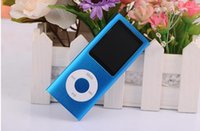 Wholesale High quality battery mp4 player gb Colors for choose Music playing time hours FM radio video player DHL free