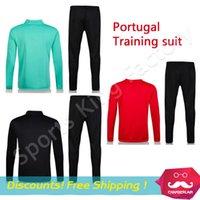 anti pants - Soccer training suit Soccer Jacket pants Euro Survetement Football tracksuit Men Training Jogging wear