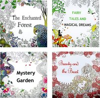beauty tale - Coloring Books Designs The Enchanted Forest Myster Garden Fairy Tales And Magical Dreams Beauty and the Beast Painting Books