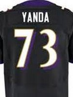 Wholesale Marshal Yanda Baltimore elite JERSEY shirts size S small xl