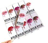 best matching colors - Best Match Makeup Kylie Lip Gloss Lipstick Kits Set Lipstick Lipliner Pen colors in Stock DA1 IB17