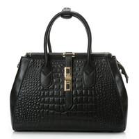alligator hides - women fashion leisure genuine leath shoulders split hide cowhide handbags crossbody leather bags