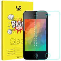 Wholesale Top Quality Tempered Glass for iphone4 iphone6 s Good Washable Cell Phone Screen Protectors for Sale H D without package