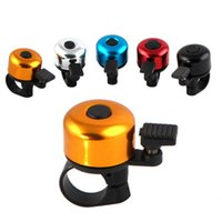 Wholesale New Bicycle Bell Road Mountain Bike Aluminum Alloy Bell Sound Resounding Bike Handlebar Ring Horn Alarm Warning Color N1016