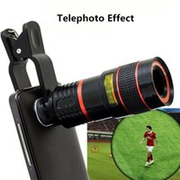 Wholesale For Xiaomi Mi Max Huawei P9 Accessory x Zoom Telescope Mobile Phone Lens Adapter Clip On Telephoto Camera Optical Lenses Kit