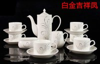 ceramic cup and saucer - high grade skull porcelain coffee cups and saucers Ceramic afternoon tea sets coffee gift box