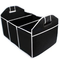 belt box organizer - Collapsible Car Trunk Organizer Toys Food Storage Truck Cargo Container Bags Box Car Stowing Tidying Auto Accessories Styling