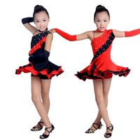 ballroom dance salsa dress - Latin Dance Dress Women Girls Latin Dress Ballroom Dance Costume Dancing Clothing Samba Salsa Ballroom Clothes with safety pants