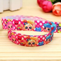 baby shop items - 5 quot mm Shop Girls Dots Fold Over Elastic FOE Printed Ribbon for Hair Bow DIY Craft Baby Item A2 F