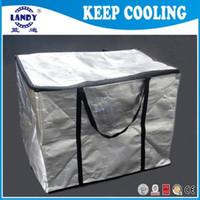 aluminum foil insulator - Aluminum foil heat insulators Thermal pizza delivery bag Insulated Liners for Coolers Thermal Shipping Liners heat insulators for