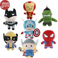 america pc game - New The Avengers Super Heroes SpiderMan Hawkeye Iron Man Captain America Alliance Green Giant Thor Wolverine Doll Tracking