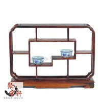 Wholesale Rosewood wood shelf rosewood curio ornaments jewelry showcase a shelf Home Furnishing special offer