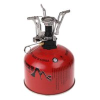 Wholesale New and Handy Portable Stainless Steel Stove for Camping H8335