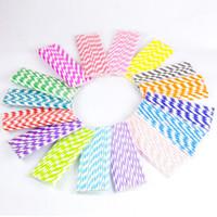 baby shower straws - Eco friendly Paper Straws Drinking Straws Biodegradable Beautiful Paper Straws for Birthdays Weddings Baby Showers Celebrations by FDA