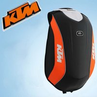 Wholesale 2016 new locomotive bag KTM Moto Racing Backpack Hard shell backpacks NO DRAG BAG MACH made of Polyester