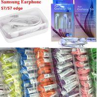 Wholesale Original In Ear Handsfree Earphones Headset with MIC Volume Control headphone Earphone for Samsung Galaxy S4 S5 S6 S6 s7 Edge plus EG920BW