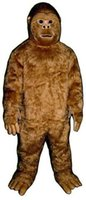 big bigfoot - Deluxe Bigfoot Mascot Costume Big foot Theme Anime Cosply costumes Carnival Fancy dress Fursuit Kits for Halloween