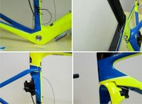 Wholesale Black BOB s painting works carbon road frame frame with brake handlebar special bike frame bicycle frame cm