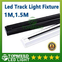 Wholesale CE RoHS M M Thicken led Track light Fixture v V Tracklights Black White Track light Spotlight Fixture connector Warranty years