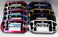 Wholesale 1 PC Aluminum case Protection Cover for Sony PSVita2000 PSV2000 Controller Multi color Cases Cheap Cases