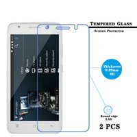 archos hd - 2pcs Ultar thin mm Tempered Glass Film for Archos C Helium G Anti shatter Screen Protector Protective HD Films