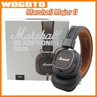 bass earphones - Marshall Major II Headset With Mic Deep Bass DJ Hi Fi Headphones HiFi Earphones Professional DJ Monitor Headphones