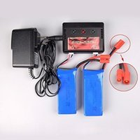 Wholesale 2pcs v mah Offical Battery and to2 Charger for Syma X8c X8w X8G Rc Quadcopter Drone Spare Parts