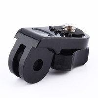 Wholesale For Xiaomi Yi Universal Bridge Adapter Convert Gopro Mount with inch connector using For Xiaomi yi Camera DSLR Accessories
