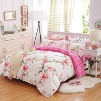 bedroom sets free shipping - cartoon duvet cover sets pc bedding set for children bedroom colorful deer twin full queen single size