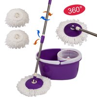 Wholesale Easy Magic Floor Mop Bucket Heads Microfiber Spin Spinning Rotating Head CL11435